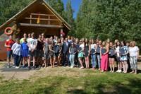 Jēkabpils domes vadība sveic Latvijas Jaunatnes olimpiādes dalībniekus