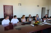 Jēkabpils Jauniešu domes pārstāvji tiekas ar Pašvaldības policijas priekšnieku I. Surkuli