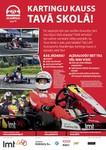 """""""LMT Autosporta Akadēmija"""" aicina pieteikties Skolu kartingu kausa otrajai sezonai"""