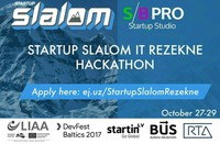 Rēzeknē notiks hakatons 'Startup Slalom IT Rēzekne'