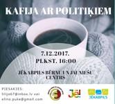 """Aicina jauniešus uz tikšanos """"Kafija ar politiķiem"""""""